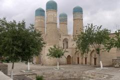 Usbekistan, Buchara, Torhaus einer Medrese Tschar Menar