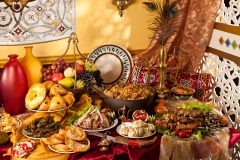 Feast of Uzbek meals (2)
