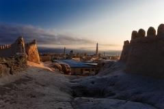 Khiva panoramic view