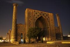 Ulegbek's madrassah, Registan, Samarknd