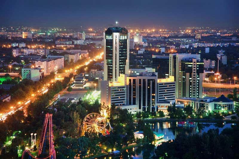 в Ташкенте